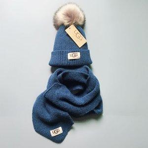 Низкая цена продвижение высокое качество дизайнер BABY мальчики девочки 1-10-летний детская шляпа + шарф набор из 2