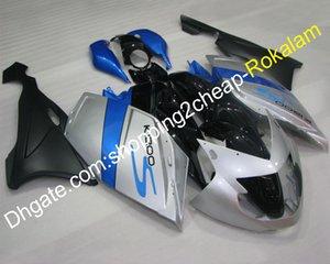K1200S Sportbike Vollverkleidung Für BMW K1200S K 1200S 2005 2006 2007 2008 K1200 S 05 06 07 08 Blau Silber Schwarz Verkleidung