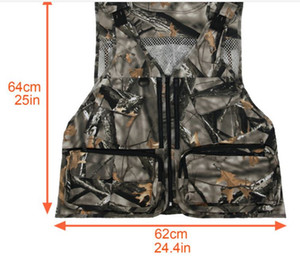 Cross-border Amazon a multi-purpose CS Both men and women cotton camouflage tactical vest for outdoor hunting