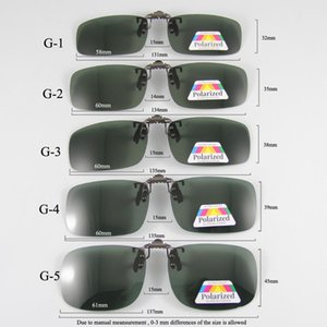 Поляризованные очки Clip-On Mater Bridge Can Up Клип на солнцезащитные очки Мужчины Женщины Солнцезащитные очки очки объектива Clear Driving очки cmvYo