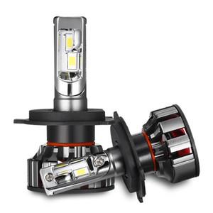 2PCS V8 H4 LED phare de voiture H7 Ampoule Led H1 H8 H9 H11 9005 9006 100W 6000K Lampe avant 10000lm