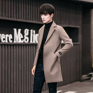 chaquetas de diseñador para hombre gabardina larga ropa de diseñador para hombre 2019 otoño nueva chaqueta de abrigo de lana deportiva para hombre