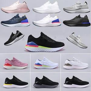 nike,Flyknit Epic React Instant Go Fly hombres, mujeres, zapatos para correr, malla causal, deportes respirables, zapatillas de deporte de diseñador