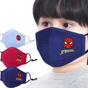 partido de la cara del hombre araña de Marvel Marvel niños Maks congelado esponja anti-polvo Maks de protección para niños niñas 3-12Y