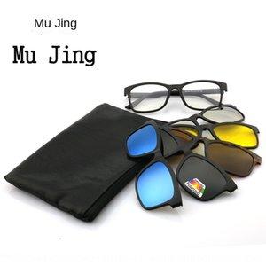 2213A full frame polarized set changeable polarized driving Sun Drive sun set glasses PC adult sun glasses