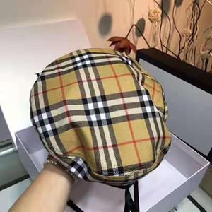 berretti di alta qualità, l'autunno / inverno 2019 di moda haute couture tappo strillone cappelli eleganti per uomini e donne