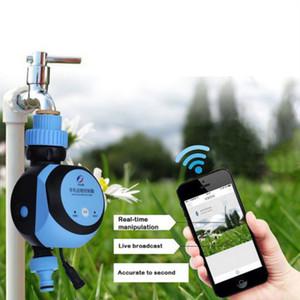 WIFI Telefone Controle Remoto Jardim Água Timers controlador automático de rega Temporizador remoto inteligente de irrigação para Home Garden Y200106
