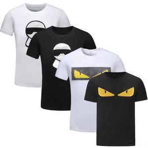 2019 novedad moda casual diseñador de lujo camisetas para hombres camisetas letra bordado camiseta para hombre camisetas de manga corta camisetas