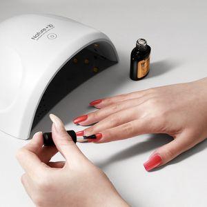 Lacheer 24W LED UV-Lampen-Nagel-Trockner 12LED Nail Licht Nails Gele Maniküre Maschine mit Timer-Taste USB-Anschluss-Kunst-Werkzeuge