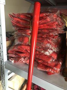 A-49 46 centimetri di legno materiale BAT rosso in legno massello Mazza da baseball professionale del legno duro da baseball bastone Outdoor Sports Equipment Fitness