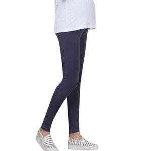 LONSANT maternité Pantalons femme infirmière Prop ventre Legging coton enceintes solides Pantalons mode vêtements casual maternité