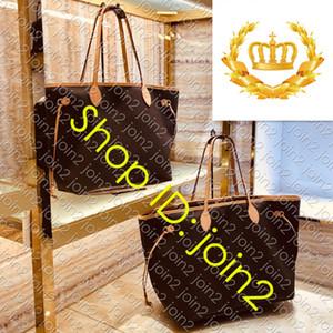 TOP M40990 NF GM MM PM de compras da lona Designer Womens Shoulder Bag Casual Luxury Travel Tote da praia com removível Clutch Pochette Bolsa
