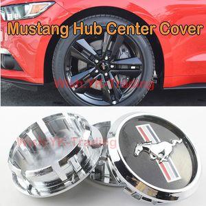 67mm 68mm 2.63in Ford Mustang Pony Horse Badge Emblem ABS Plastica Ruota centrale Coprimozzo Mozzo Tappi Custodia Car Styling Accessori