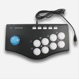 Arcade Joystick Gamepad Game Controller PC PS3 verdrahtet Spiel Joystick Kabel Mehrfachfunktion breite Verbindung Wippe für Computer