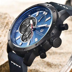 Montres Hommes True Six broches Chronographe sport Montres Marque PAGANI design de luxe Quartz Reloj Hombre Relogio Masculino 2018