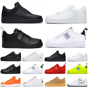 Nike Air Force 1 af1 supreme unning para hombre mujer dunk utility Low High White black Flax red para hombre Zapatillas de skate Zapatillas deportivas a la venta