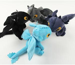 20cm How to Train Your Dragon 2 Plüschtier gefüllt Zahnlos Cartoon Tiere Drachen Spielzeug Kinder Sammlung Geschenk