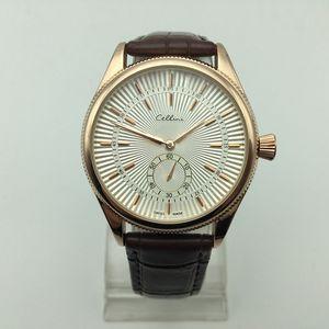 Горячие продажи 40 мм маленький три иглы кварцевые кожаные мужские часы Мода 8 цвет мужчины платье дизайнерские часы оптом мужские подарки наручные часы