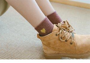 Çorap Aşk Tatlı Bayan Çorap Moda Trend Streç Düz Renk Casual Kadın Çorap Spor Geometrik Baskılı