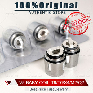 100% Original-V8-Baby-Wickelkopf Replacment T8 X4 T6 Q2 M2 Beast Coil Motor Kern für H PRIV Mini 50w Kits