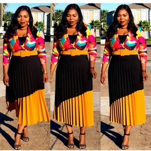 HD bayanlar afrika elbiseler robe femme africa afrika bayan giyim kadın kıyafeti elbise baskılı afrika kadın giyim uzun kollu