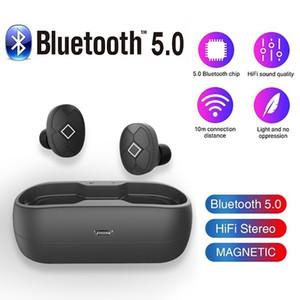 V5 Bluetooth Wireless Headset auriculares auriculares auriculares estéreo para auriculares de control táctil con 3.0 Carga de los auriculares W1 H1 chip de pk inalámbrica