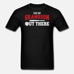 내 손자 할아버지 야구 선물 여성 t 셔츠 티셔츠 그건 남자 t 셔츠