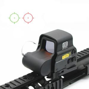 NUEVO 558 holográfico Rojo Verde punto de la vista táctico del alcance del rifle de la vista refleja la vista óptica con soportes de 20 mm Alcance