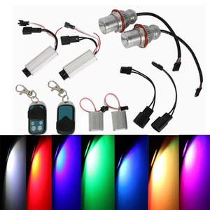 Angel Eyes Marker RGBW MULTICOLOR 20W LED for BMW E39 E53 E60 Halo Ring Marker Light Bulb