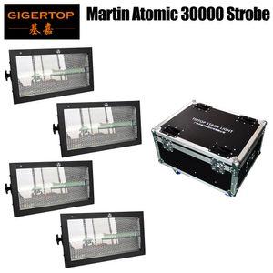 4in1 Flight Case pacchetto Martin 3000 ha condotto la luce stroboscopica atomica fase DMX Wash Flash Effetto 2IN1 bianco Strobe RGB 3IN1 SMD 5050 della lavata della parete