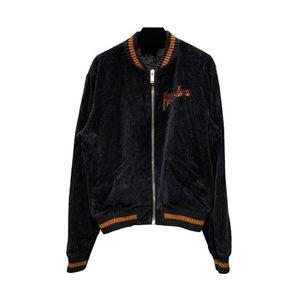 Fashion-Angels Mens Giacche invernali velluto a coste Bomber Designer cappotti giacca casual