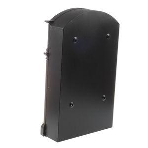 Heavy Duty Aluminium schwarz Abschließbare Secure Mail Briefpostfach Letterbox New Andere Gartengeräte