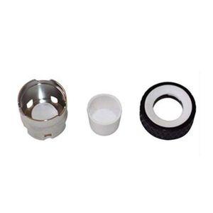 SOC Atomizador Aquecimento Cabeça de Substituição da Bobina Ceramic Insira bacia Aquecimento Cups Câmara de calor da bobina Acessórios para Original SOC Enail fumadores Dab
