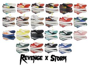 2019 Nova Revenge x tempestade Old Skool Skateboarding Sneakers Trending Trainers casual para homens Mulheres duráveis lona sapatos de desporto ao ar livre