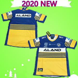 S-5XL 2019 2020 Parramatta Eels Rugby formaları fransız Alvaro gower Evans Mannah moeroa Norman hoffman kahverengi terepo taş pritchardniukore