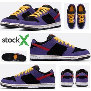 2020 new released Low Dunk SB ACG Terra running shoes black purple BQ6817-008 casual sneakers shoes high quality size 36-45
