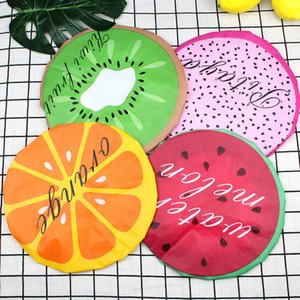 Reusable Waterproof anti-fouling bath cap fruit lovely shower cap cartoon lady kitchen bath shower cap hair wash barbershop hat YD0636