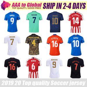 Top quality football shirts 2020 2021 Best Thai jersey Moreno Angel Benzema Suarez Perez Griezmann Messi Discount soccer jersey