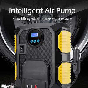 Digital Pneumatici gonfiatore DC DC 12 Volt Car Portable Air Compressor Pump 150 PSI Auto Air Compressor per auto Motocicli Biciclette