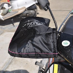 Motocicleta Scooter Mitts Mão com apertados ajustável mangas inverno mais quente luvas Bar regalos Rainproof Windproof