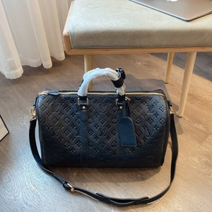 Marca 2020 Compra da bolsa simples grandes mulheres de capacidade de ombro cadeia decoração Messenger Bag Designers compras bolsas L26