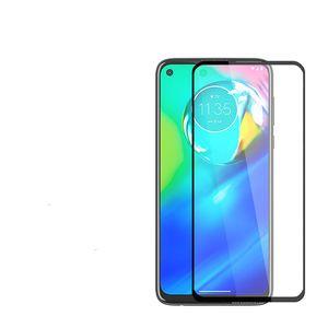 스크린 프로텍터 곡선 가장자리 Samsung Galaxy A01 Moto E6S Gstylus GPower LG K51 Stylo 6 용지 패키지