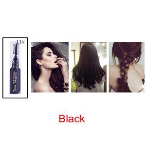 صبغ الشعر المرأة قابل للغسل DIY الجمال المؤقتة التصميم صبغ الشعر كريم المراهم تلوين الشمع الطين