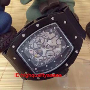 2019 novos relógios relógio de cabeça de flor em branco de silicone oco relógio de maquinaria automática relógio homens