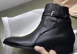 imagem real lista NOVO Handmade MID bracelete de Wyatt slp preto personalizado Jodhpur botas