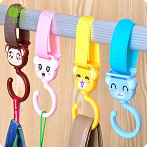 Z5141 creativity can be rotated 360 degrees into two cute animal shapes multifunctional Velcro hook