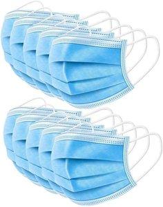 Avoir en stock! Masque jetable 3 couches Masques Anti-poussière bouche du visage Masques de protection anti-Set Couverture poussière Masque Livraison rapide