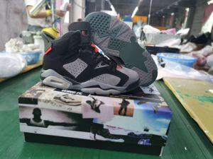 2019 Shoes New 6 PSG Paris basquete masculino CK1229-001 6s PANAME ferro cinzento infravermelhos 23-Preto Outdoor Sports Athletic Shoes