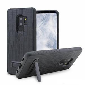 Keten Combo için LG Q7 Stylo 4 G7 ZTE Z982 için Alcatel 7folio 1X Evolve Bırak Direnç Kickstand Koruyucu Kılıf için K10 2018