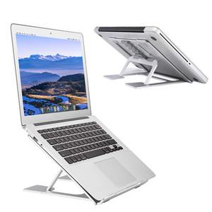 Verstellbarer Laptop-Ständer Belüfteter, tragbarer, ergonomischer Notebook-Riser für den Schreibtisch Verstellbare, tragbare, rutschfeste Mehrwinkelhalterung für das MacBook